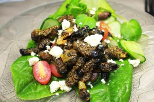 Mopane Worm Salad Recipe
