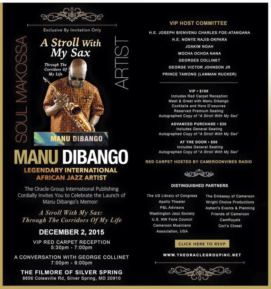 A Stroll with My Sax – Manu Dibango