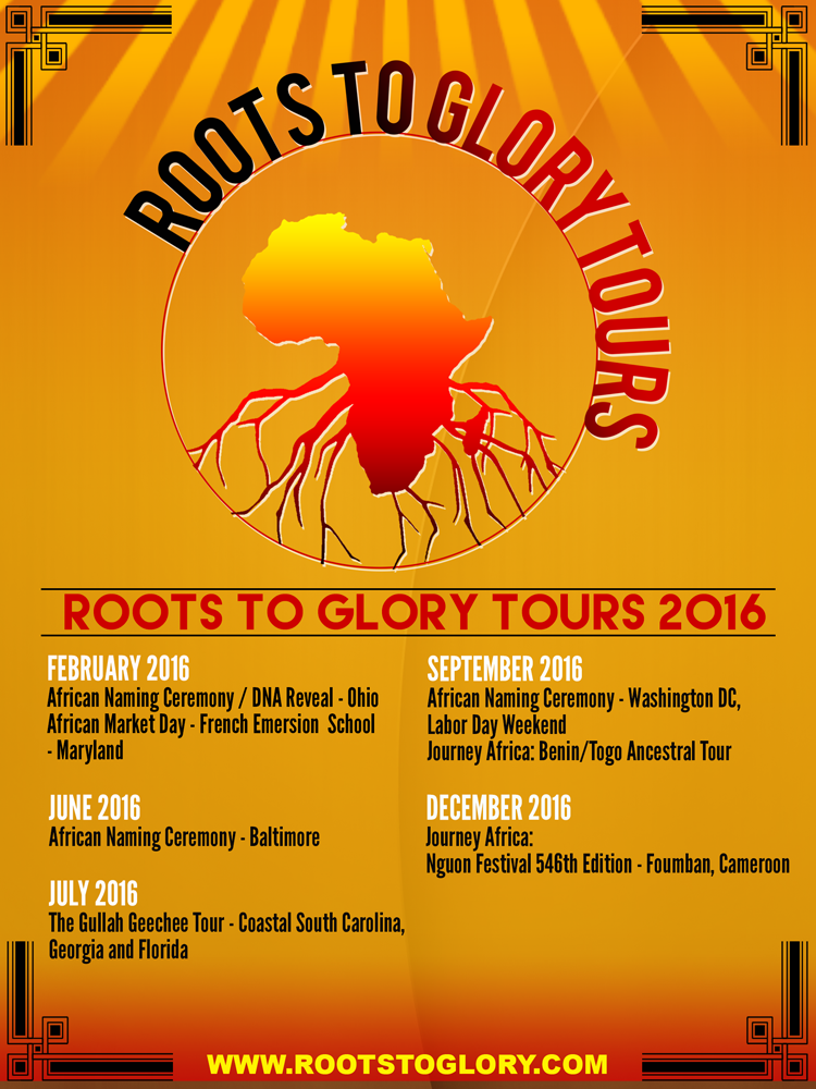 Roots to Gory Tours 2016