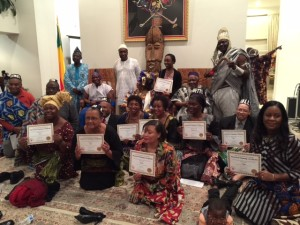 Reception and Naming Ceremony – Embassy of Benin